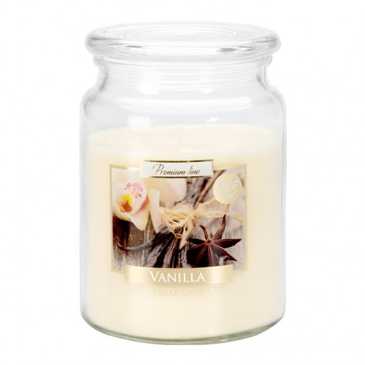 Vanilla Scented Candle Large Jar Best Smelling