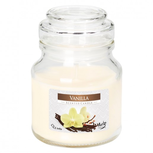 Vanilla Scented Candle Small Jar Best Smelling
