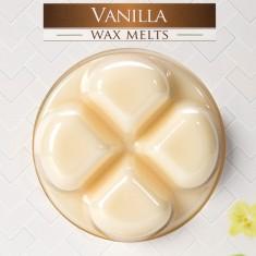 Vanilla Wax Melts closeup