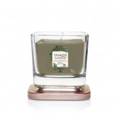Vetiver & Black Cypress - Small Jar Elevation Collection Yankee Candle Open