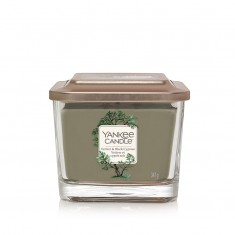 Vetiver & Black Cypress - Small Jar Elevation Collection Yankee Candle