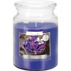 Violet Large Jar