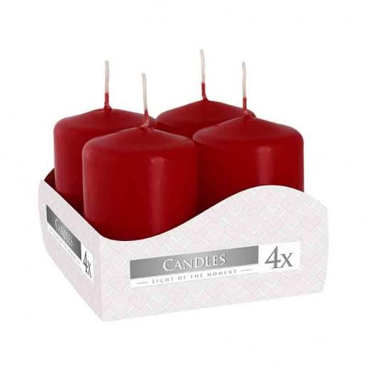 Votive Candle 40x60 - Burgundy
