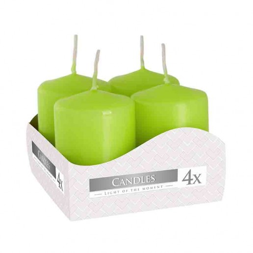 Votive Candle 40x60 - Light Green