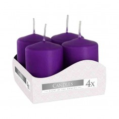 Votive Candle 40x60 - Purple
