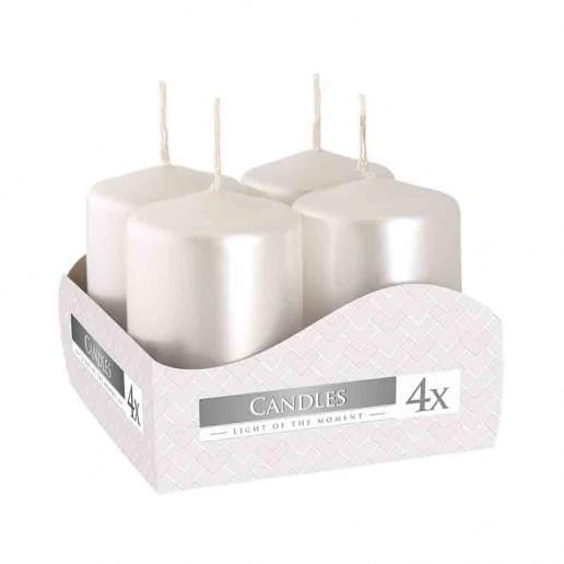 Votive Candle 40x60 - White Pearl