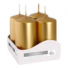 Votive Candle 40x80 - Gold