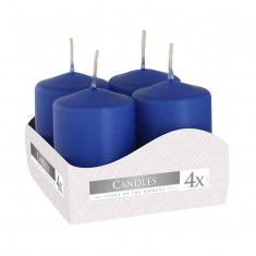 Votive Candle 6x4 - Royal Blue