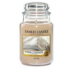 Warm Cashmere - Yankee Candle Large Jar