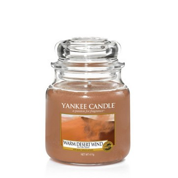 Warm Desert Wind -  Yankee Candle Medium Jar