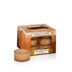 Warm Desert Wind - Yankee Candle Tea Lights