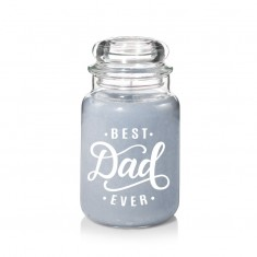 Water Garden - Best Dad Ever Personalised Yankee Candle
