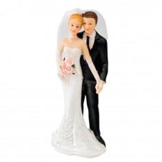 Wedding Cake Topper Couple 2 white