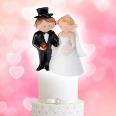 Wedding Cake Topper Funny Character Couple 1