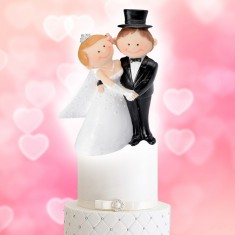Wedding Cake Topper Funny Character Couple 2