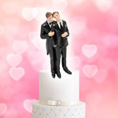Wedding Cake Topper Gay Couple