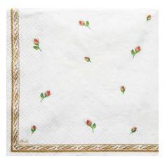 Wedding Rings White Paper Napkins back