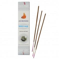 White Sage  - Ayurvedic Masala Incense Sticks