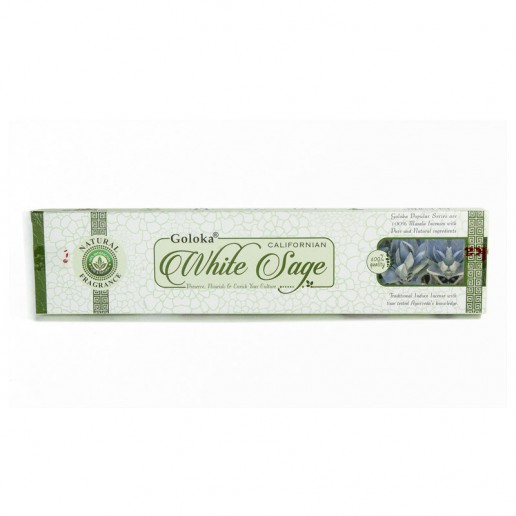 White Sage - Goloka Incense Sticks