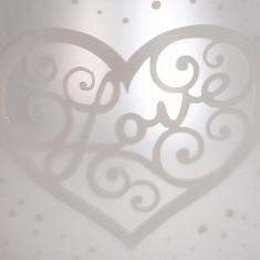 White Satin Heart - Electric Wax Melt Burner zoom