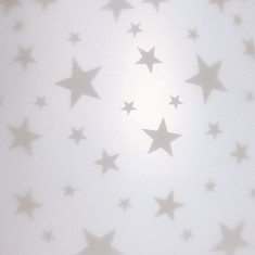 White Satin Star - Electric Wax Melt Burner zoom
