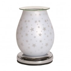 White Satin Star - Electric Wax Melt Burner