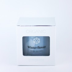 Winter Flower - Scented Candle in Glass box