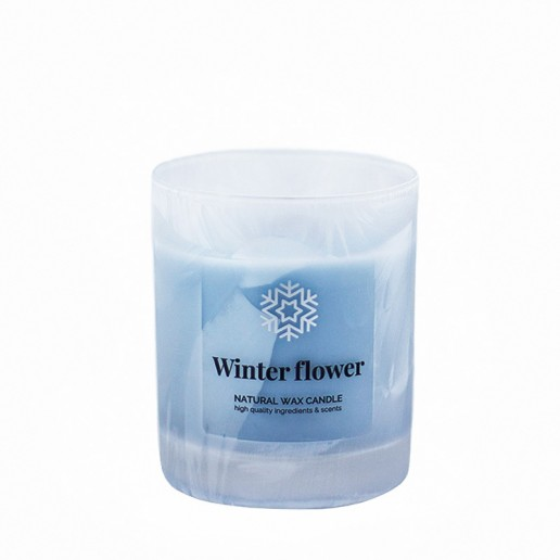 Winter Flower - Scented Candle in Glass