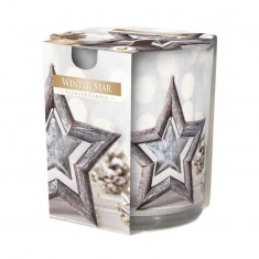 Winter Star - Scented Candle  In Glass