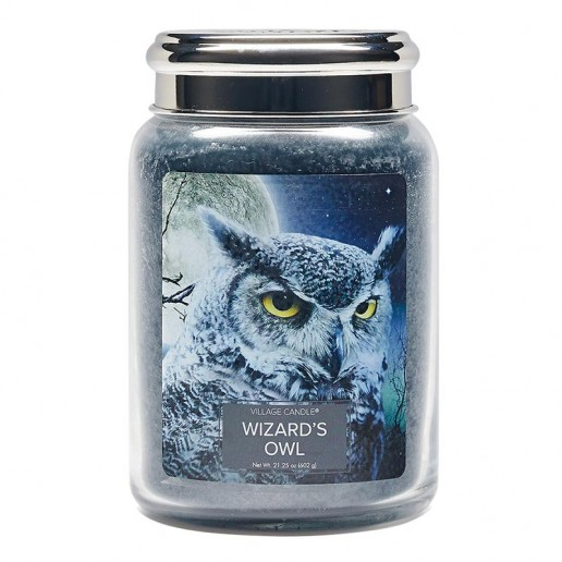 Wizard's Owl - Village Candle Large Jar