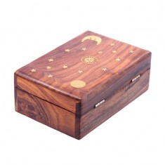 Wooden Trinket Box angle