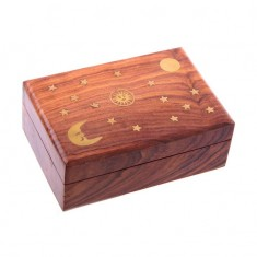 Wooden Trinket Box front