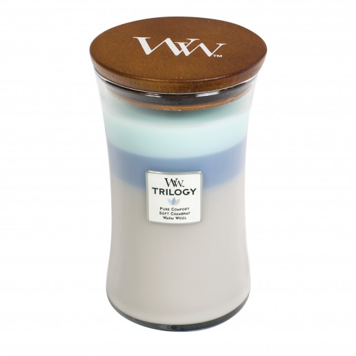 Woven Comforts - WoodWick Trilogy Large Jar