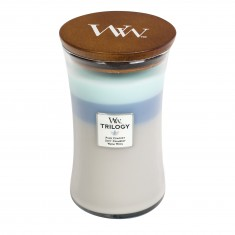 Woven Comforts - WoodWick Trilogy Large Jar
