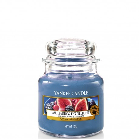 Mulberry & Fig Delight - Yankee Candle Small Jar