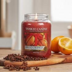 Spiced Orange - Yankee Candle Large Jar lifestyle